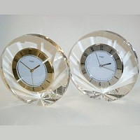 Shell Clock silver